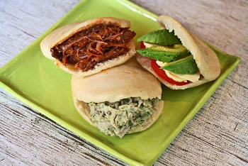 Examples of tasty fillings for your arepas
