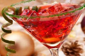 Examples of how to make Christmas cocktails