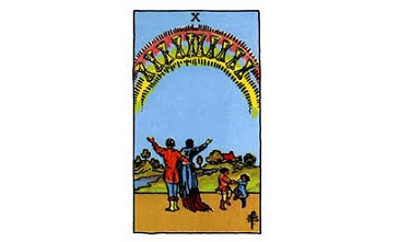 Ten of Cups Tarot Card Meaning
