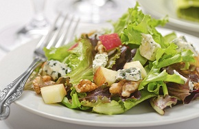 Examples of salads for Christmas
