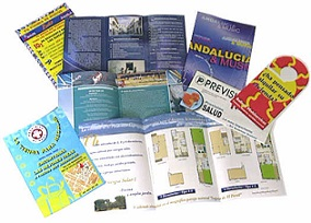 Features of a brochure