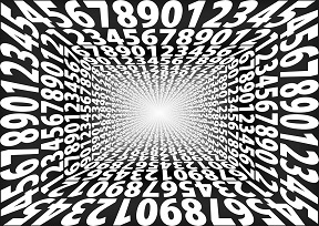 Generatrix fraction of an unlimited pure newspaper decimal number