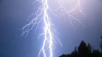 The lightning that killed eleven players from a football team