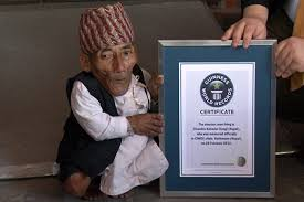 The world's smallest man