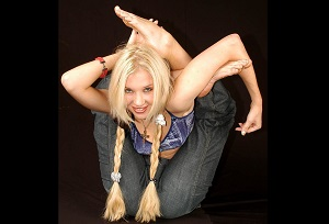 The world's most flexible woman