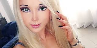 The real human Barbie was hit