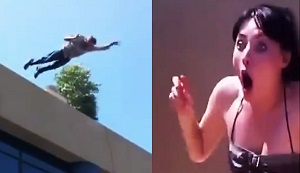 The man who faked his death in front of his girlfriend, in his marriage proposal