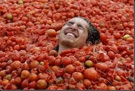 History and curiosities of the Spanish tomatina
