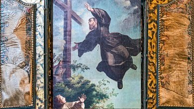 Real cases of levitation: St. Joseph of Cupertino