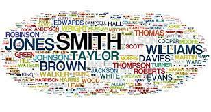 The history of surnames